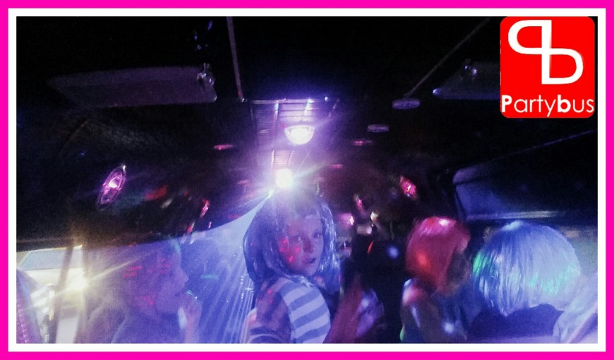 Party bus birthday booking