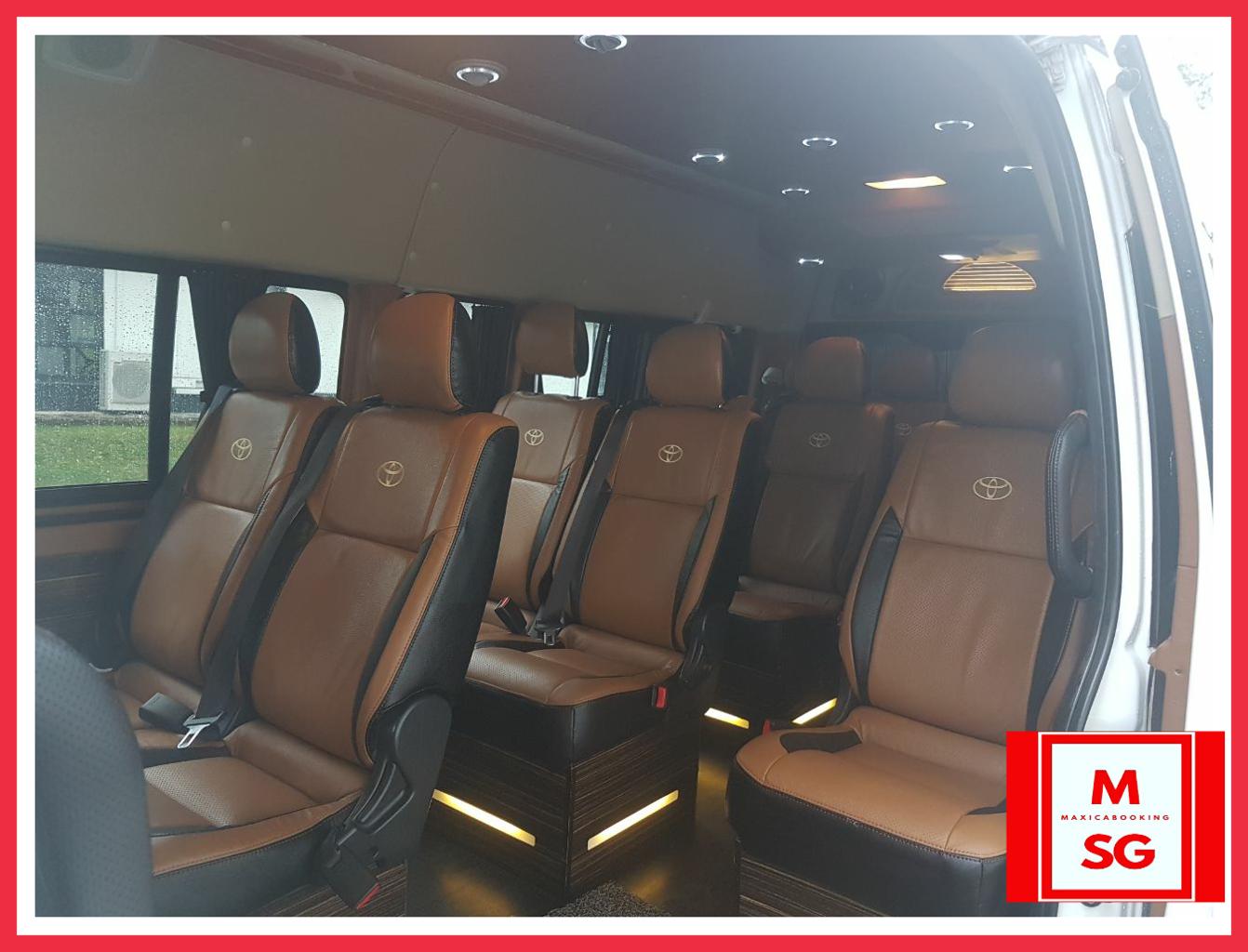 mini bus 13 seater interior