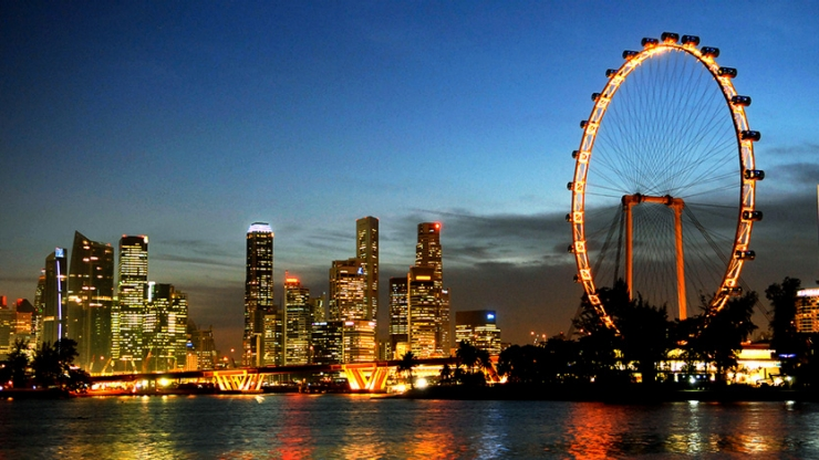 book limocab to singapore flyer