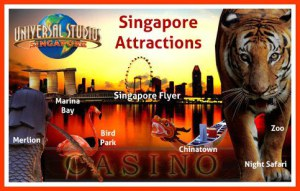 Maxicab booking to Singapore Attractions