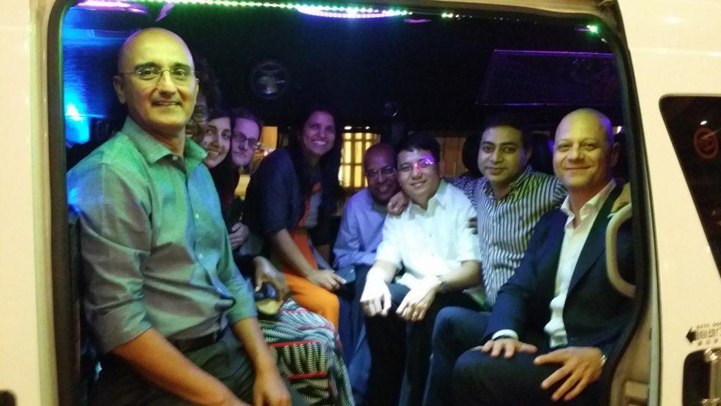 minibus vip for corporate bookings
