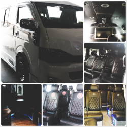 book minibus 13 seater vip series