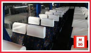 Coach bus 45 seater interior