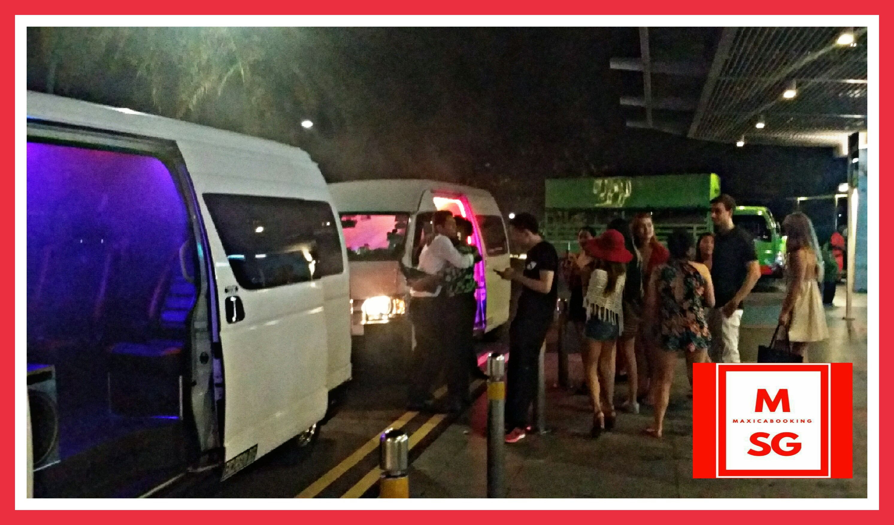 Book Party bus for city transfers